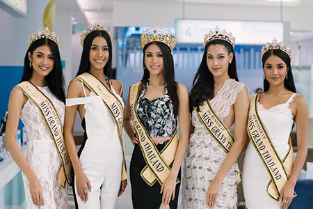 Welcome Ceremony Miss Grand Thailand 2017